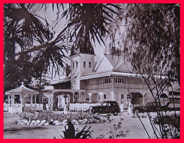 ROYAL PALACE AT NUKU´ALOFA 1958